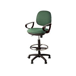 "Task chair ""D"" arms 5 star nylon base w/casters"